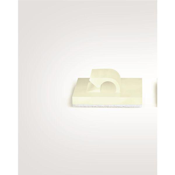 Clips Hellermann Tyton 151-13020 sluten, polyamid, 100-pack 9 mm