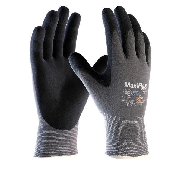 Monteringshanske ATG MaxiFlex ULTIMATE 42-874 med Adapt-teknologi Størrelse 6