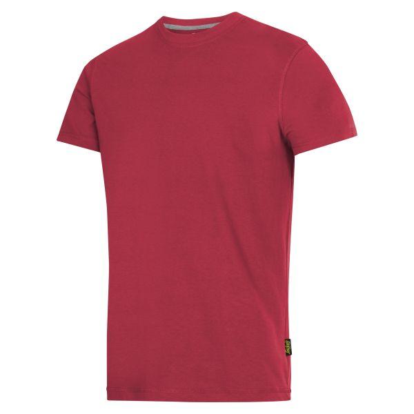 Snickers 2502 T-shirt röd S
