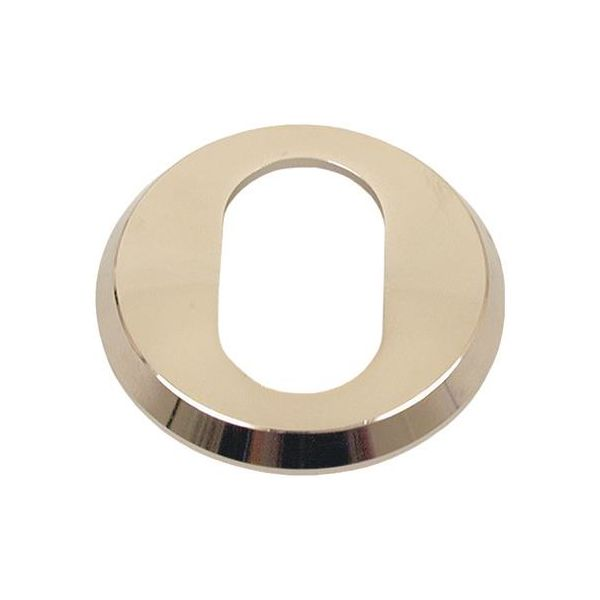 Sylinderring ASSA 412706110044 til oval sylinder, 21 mm Brunoksidert messing