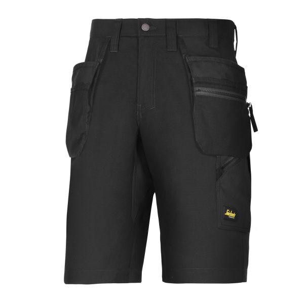 Snickers 6101 LiteWork Shorts svart C62