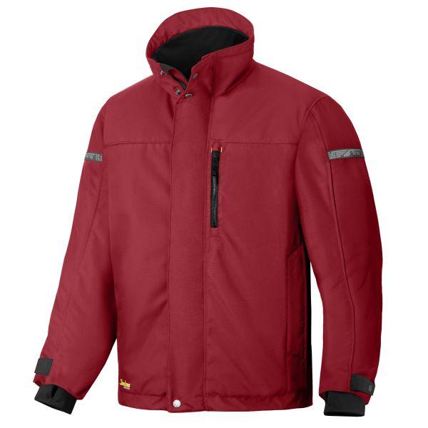 Vinterjakke Snickers 1100 AllroundWork rød XXL
