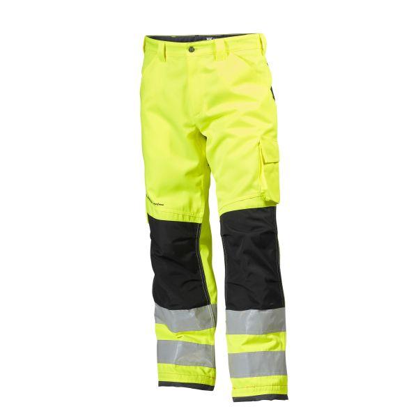 H/H Workwear Alna Arbetsbyxa varsel gul/svart D92