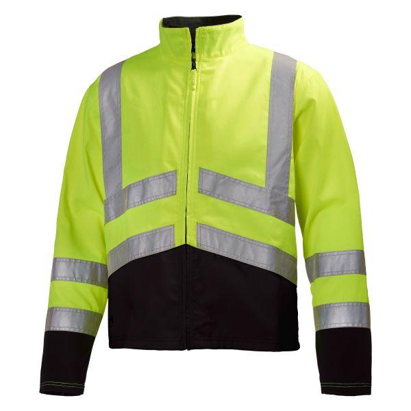 H/H Workwear Alta Jacka varsel gul/svart L