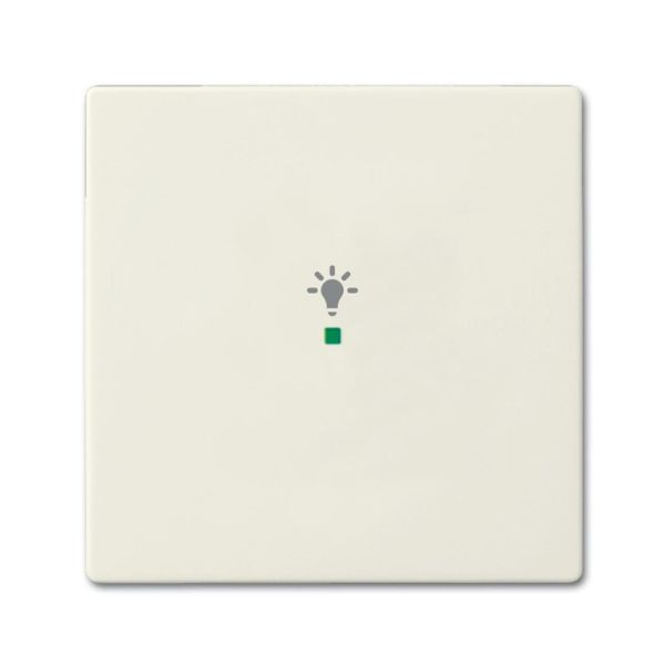 Yksiosainen vipupainike ABB Future Linear 6220-0-0585  Chalet-white