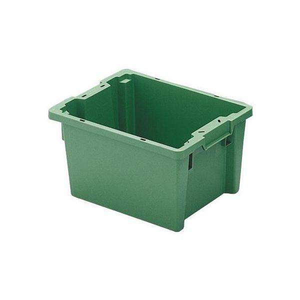 Kuljetuslaatikko Schoeller Allibert ARCA TELLUS 4129 vihreä 600x400x270 mm