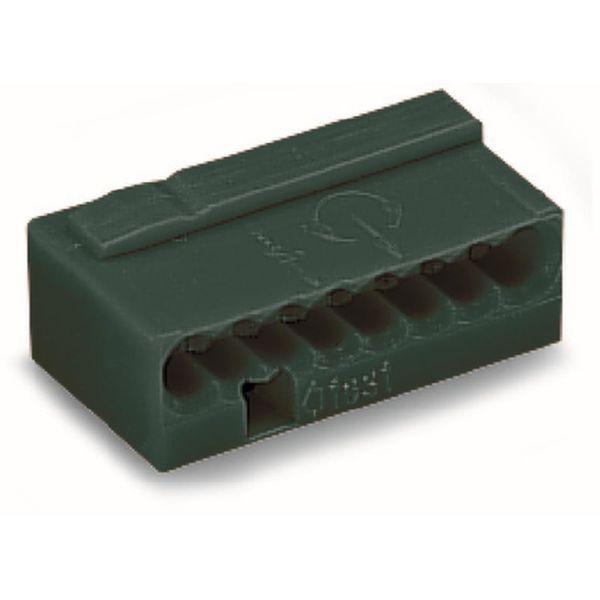 Klämma Wago 243-208 7 x 10 x 18 mm, 50-pack Mörkgrå