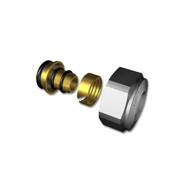 Anslutningskoppling LK Systems 2417298 16X2,0/2,2 mm