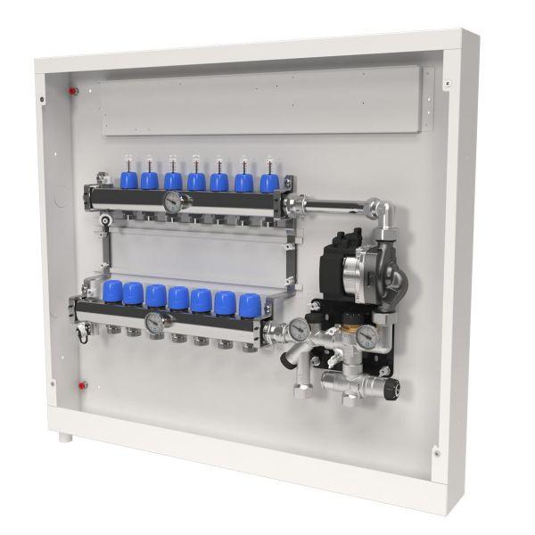 LK Systems VS2 2435381 Shuntskåp 16 + 10 hål 4 värmekretsar