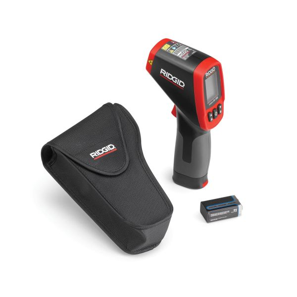 Termometer Ridgid IR-200 infraröd, med batteri