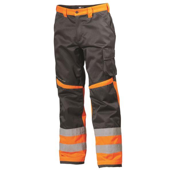 H/H Workwear Alna Arbetsbyxa varsel orange/svart D92
