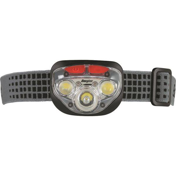 Pannlampa Energizer Vision HD + Focus 300 lm, vattentät, med batterier