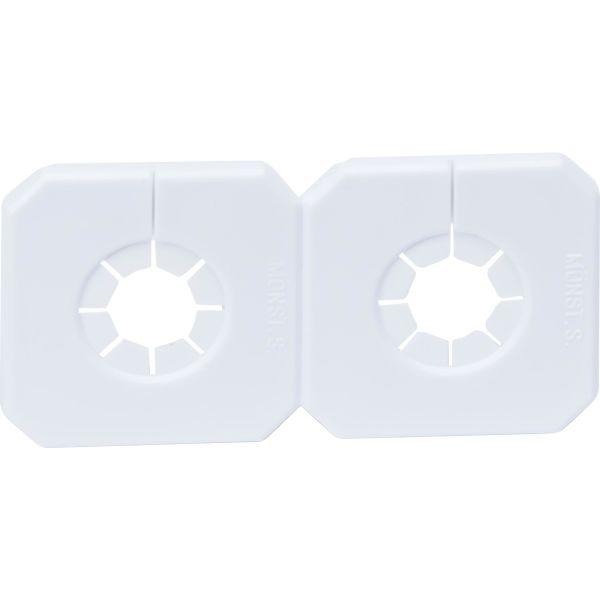Dekkbrikke Purus Duo-Täck 52173 hvit 10-18 mm 40 c/c
