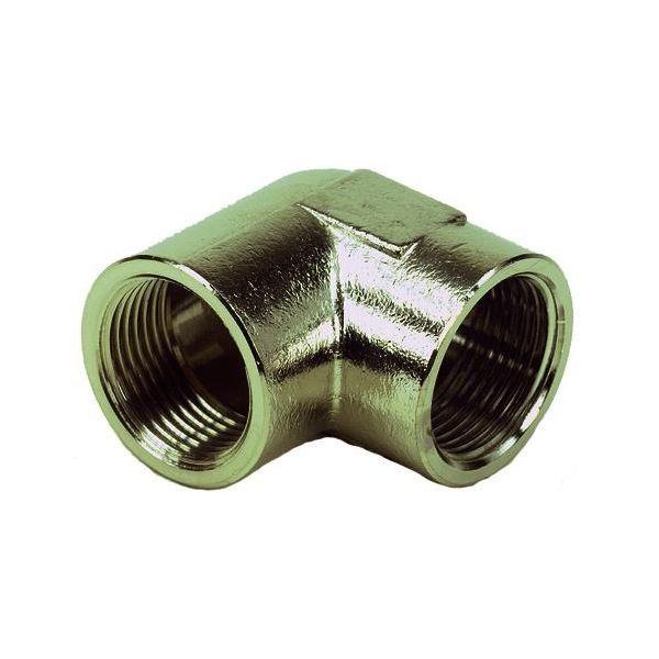 Vinkel Ezze 3006093012 metall, inv gjenge G15, messing