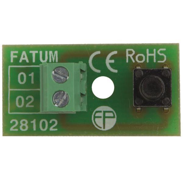 Sabotageplint Alarmtech 5015209 76 x 27 x 58 mm, skruvmodell