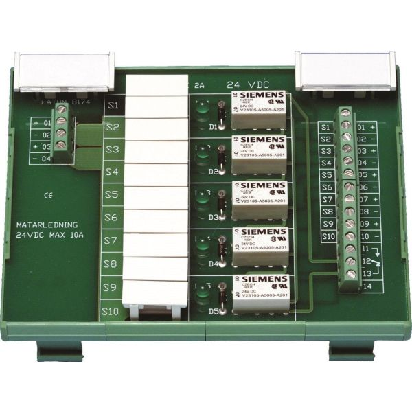 Säkringsplint Alarmtech Fatum DIN 24 V DC
