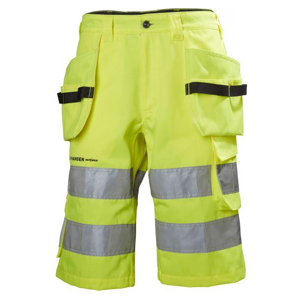 Arbetsshorts Helly Hansen Workwear Alna varsel, gul C44