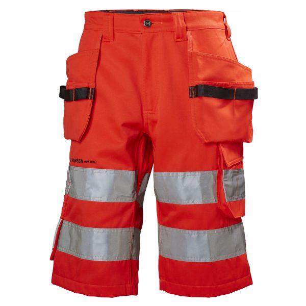 H/H Workwear Alna Arbetsshorts varsel röd C60