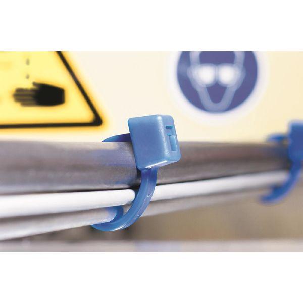 Buntband Hellermann Tyton 111-00732 kemikaliebeständig, 100-pack 201 x 4,7 mm