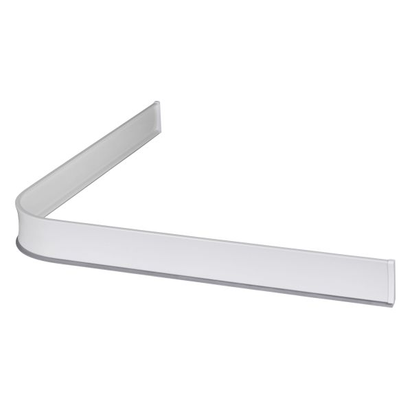 Dusjkant Leijma 8101 vinkel, hvit 92 x 92 cm