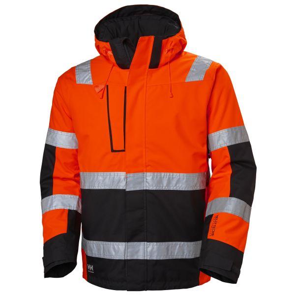 H/H Workwear Alna Jacka varsel röd/svart XL