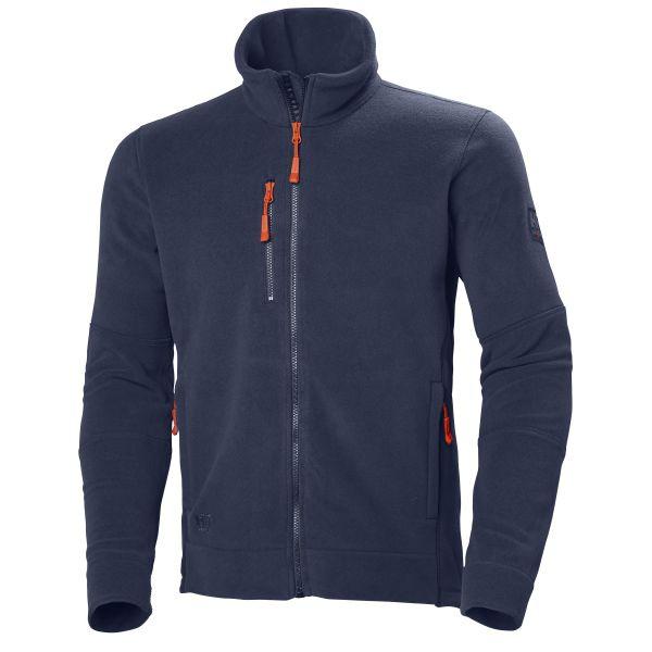 H/H Workwear Kensington Fleecejacka marinblå M