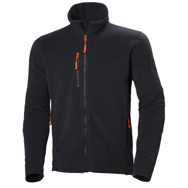 H/H Workwear Kensington Fleecejacka Svart Strl XL