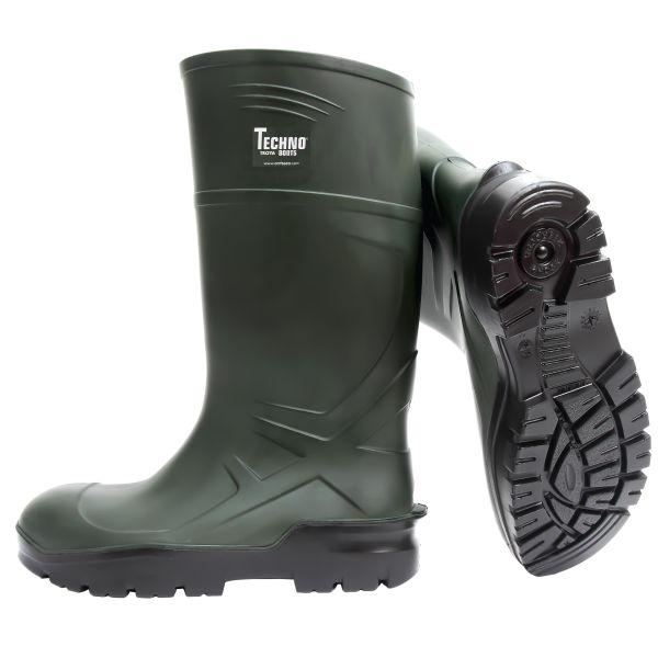 Skyddsstövel Techno Boots S5 grön, PU 37