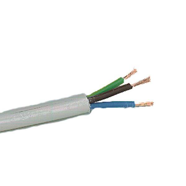 Anslutningskabel Nexans RQQ H05Z1Z1-F, 300/500 V 3G0,75 mm²