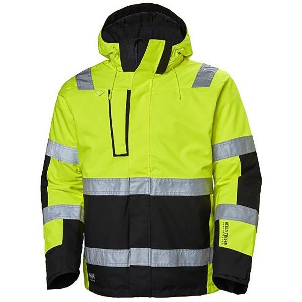 H/H Workwear Alna Jacka varsel gul/svart S
