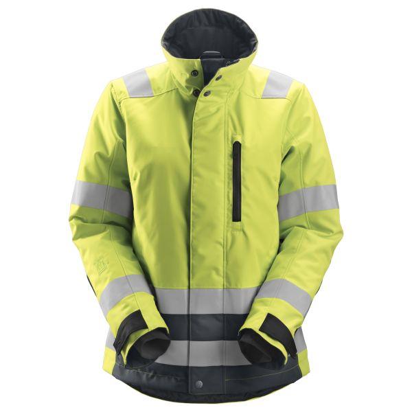 Vinterjakke Snickers 1137 AllroundWork varsel, gul XL