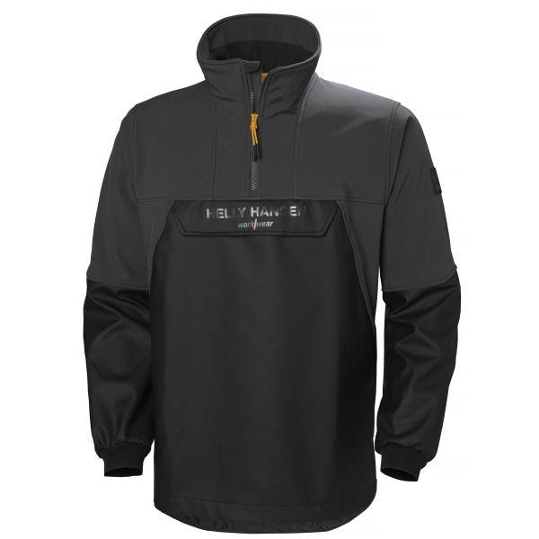 H/H Workwear Storm Hybrid Anorak svart 3XL