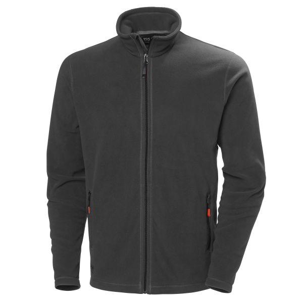 H/H Workwear Oxford Light Fleecejacka grå L