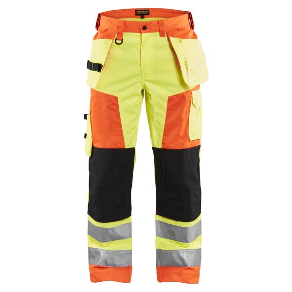 Midjebyxa Blåkläder 8827-1804 Limited Edition varsel, gul/orange C44