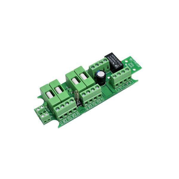 Säkringsplint Alarmtech 3056.03 10-30 V DC/AC, 5 sektioner