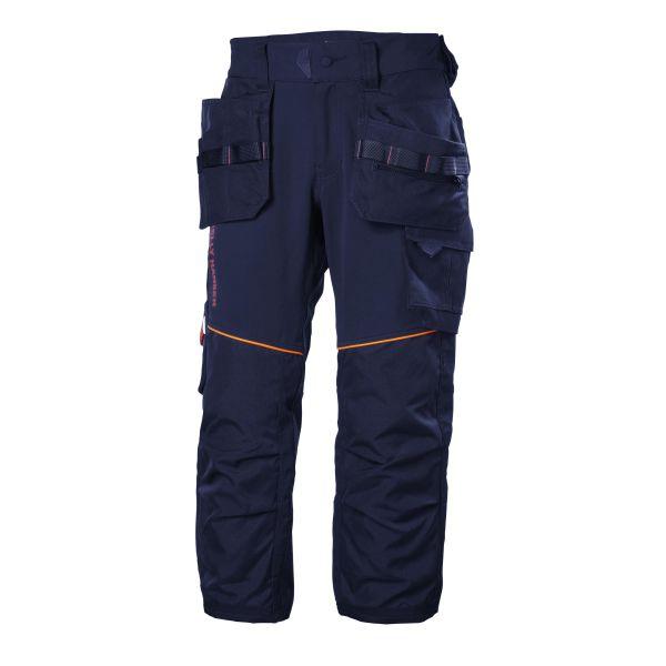 H/H Workwear Chelsea Evolution Arbetsbyxa marinblå 4-vägs stretch C46