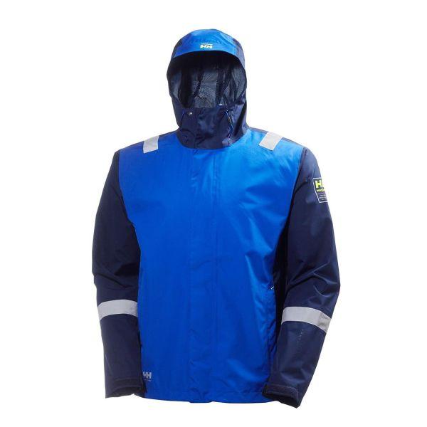 H/H Workwear 71050-555 Softshelljacka blå XL