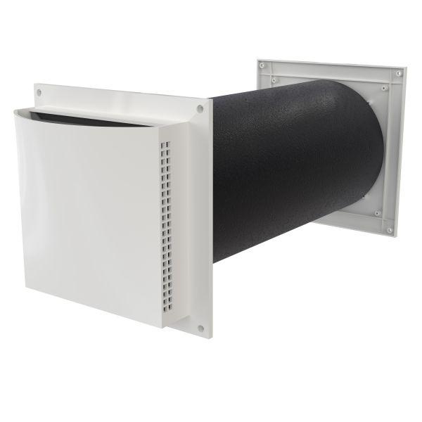 Friskluftsventil Flexit 09183 100-175 mm, ljuddämpad
