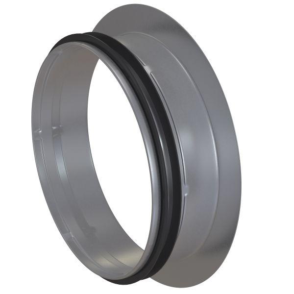Inloppsrör Flexit 116272 galvaniserat stål 125 mm