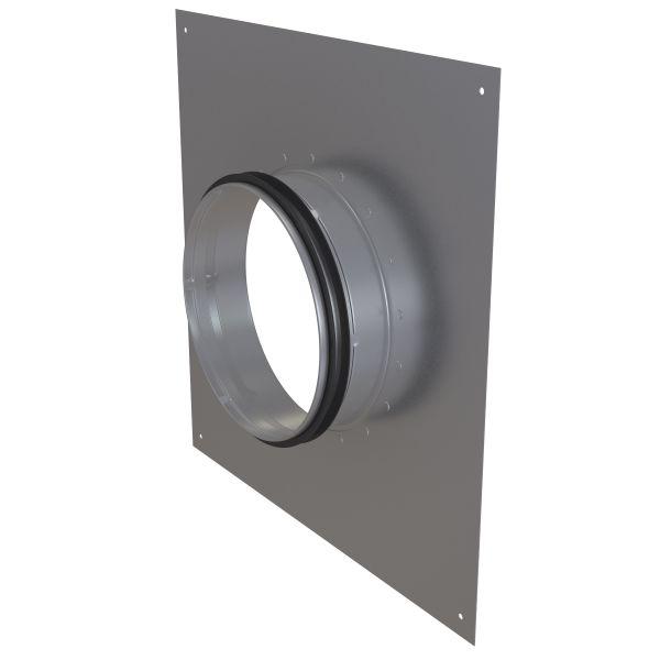 Väggstos Flexit 116276 galvaniserat stål 160 mm