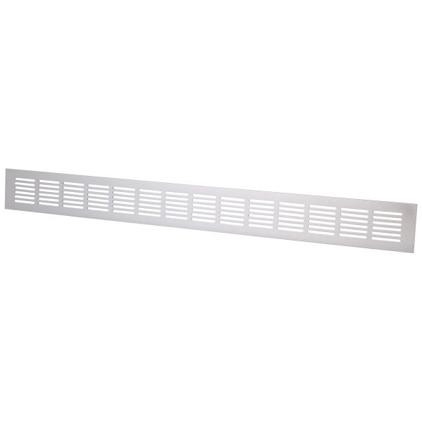 Överströmningsgaller Flexit 117140 600 x 60 mm Aluminium