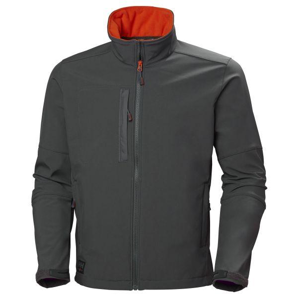 H/H Workwear Kensington Softshelljacka grå 3XL
