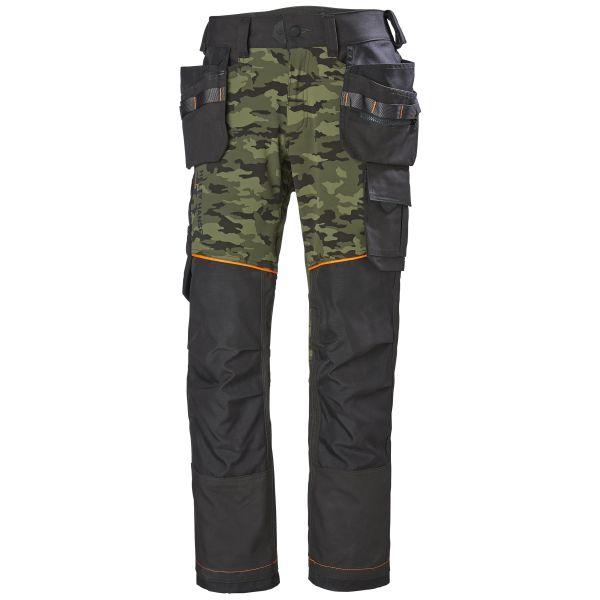 Vyötäröhousut Helly Hansen Workwear Chelsea Evolution maastokuvio/musta Koko C46