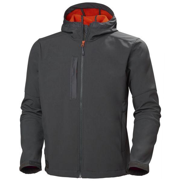 H/H Workwear Kensington Softshelljacka grå XXL
