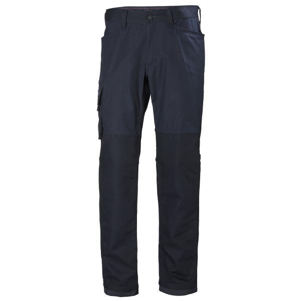 H/H Workwear Oxford Arbetsbyxa marinblå C44
