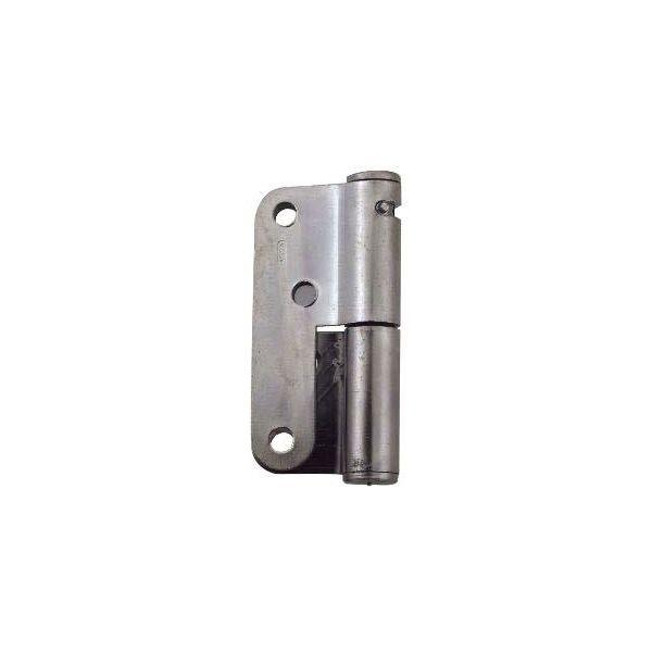 Fjädergångjärn ASSA 2220-100 100 mm, förzinkad Höger