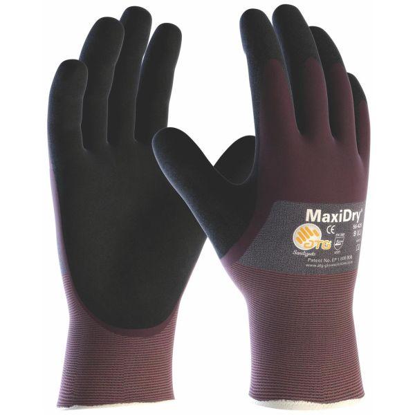Montagehandske ATG MaxiDry 56-425 med ¾ doppning Strl 6