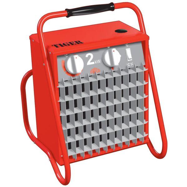Värmefläkt Frico Tiger P21 portabel 230V, 2kW