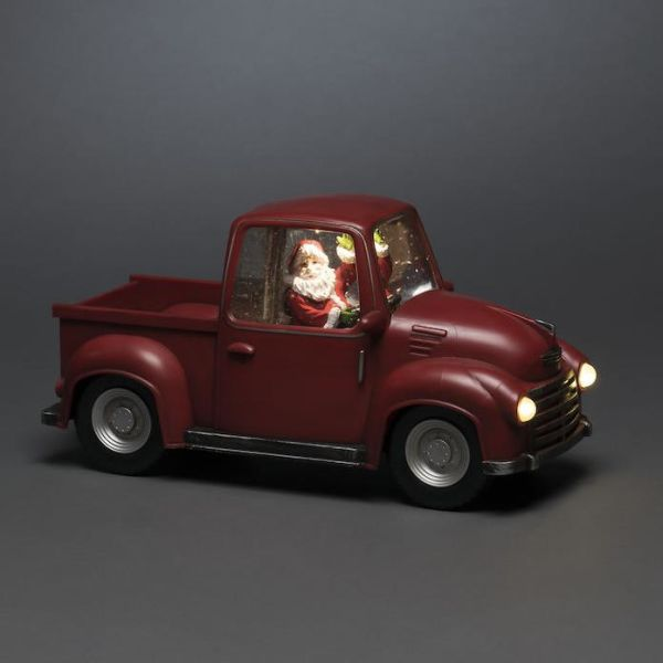 Dekorationsbelysning Konstsmide 4384-550 bil med tomte