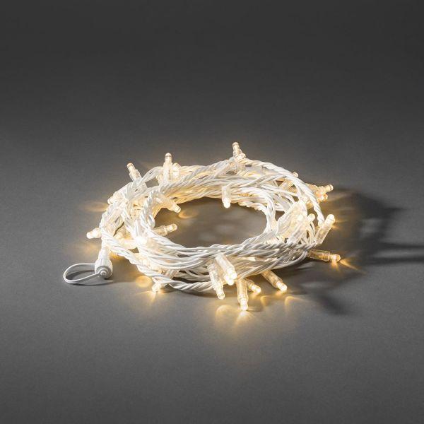 Konstsmide 4911-812 Ljusslinga tillägg 5 m vit
